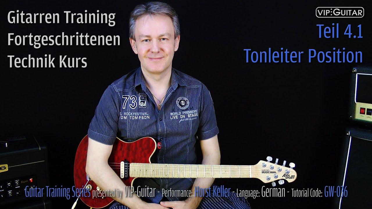 Gitarren Training - Fortgeschrittenen Kurs