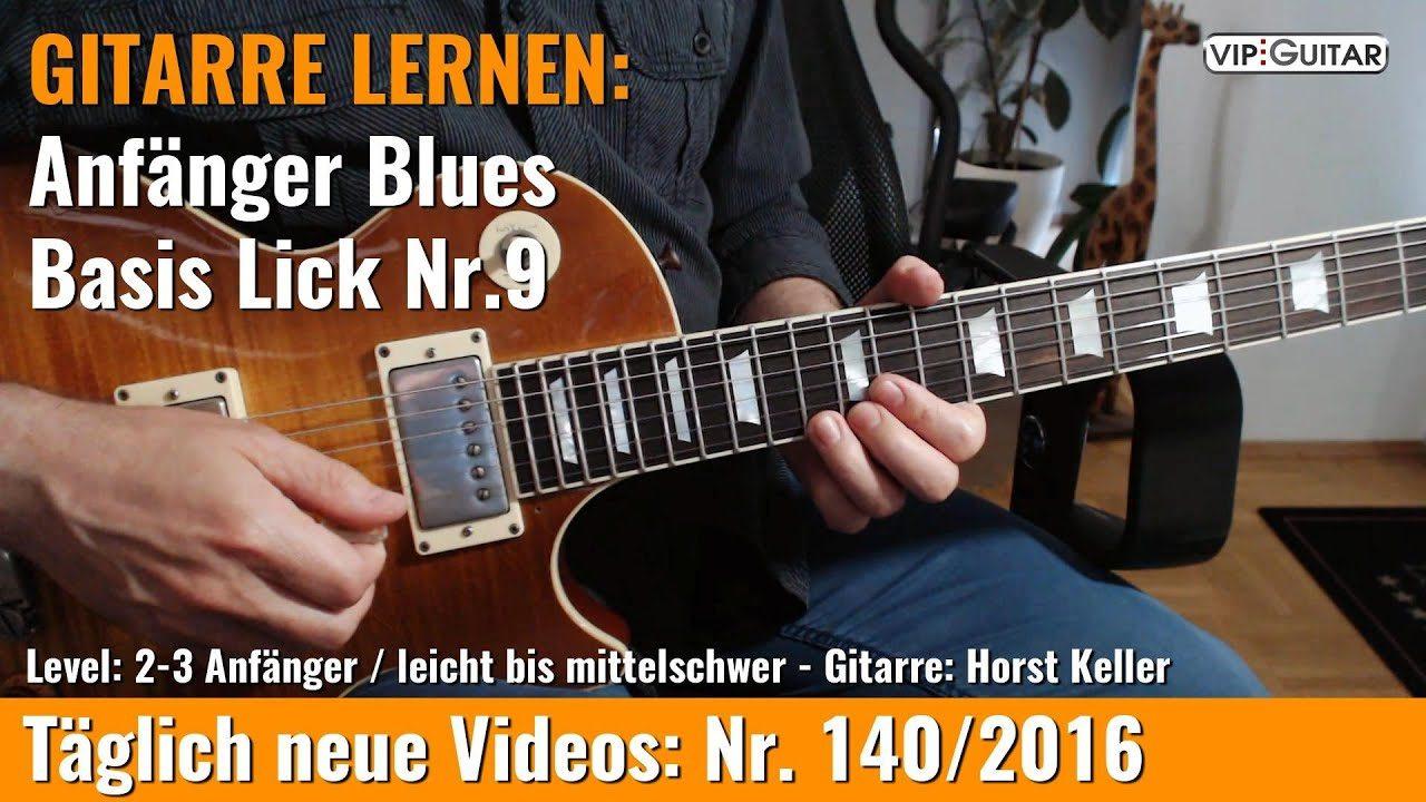 Anfänger Blues - Lick r. 9