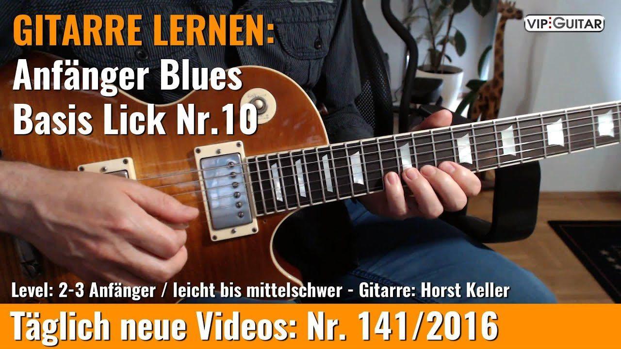 Anfänger Blues - Basic Lick Nr. 10