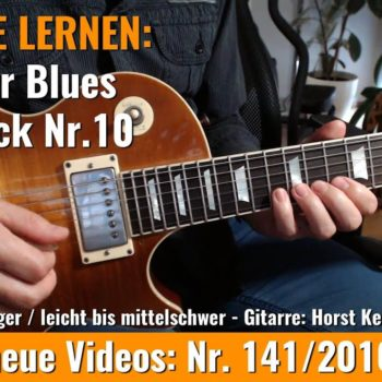 Anfänger Blues - Basic Lick Nr. 10