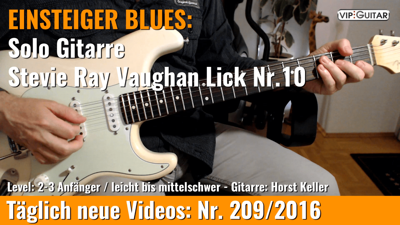 Stevie Ray Vaughan Lick Nr. 10