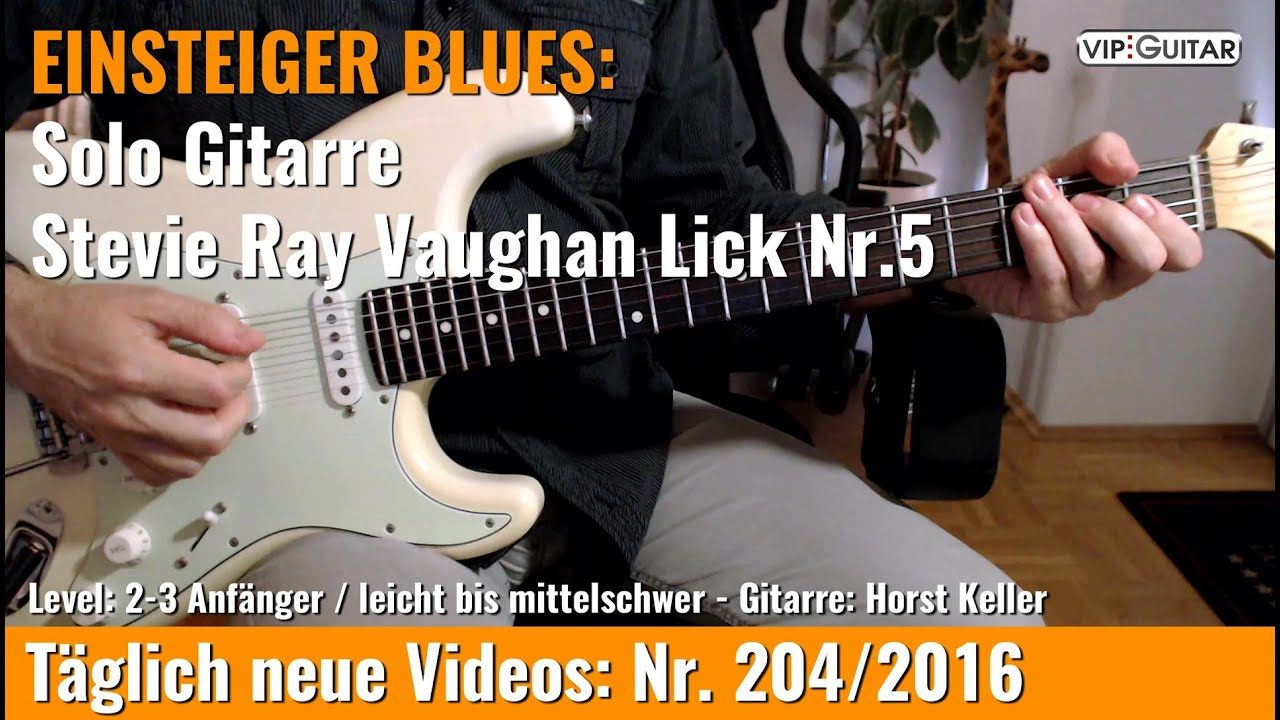 Stevie Ray Vaughan Lick Nr. 5