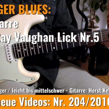 Stevie Ray Vaughan Lick Nr. 5