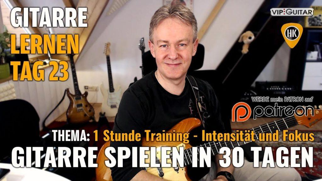 Gitarre lernen Tag 23