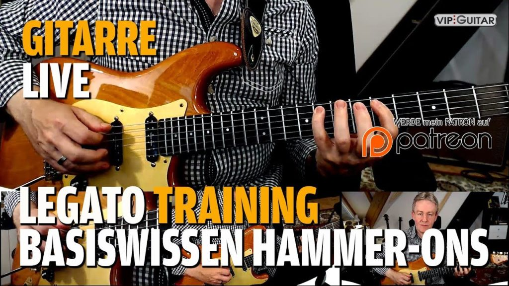 Legato Training Basiswissen Hammer On