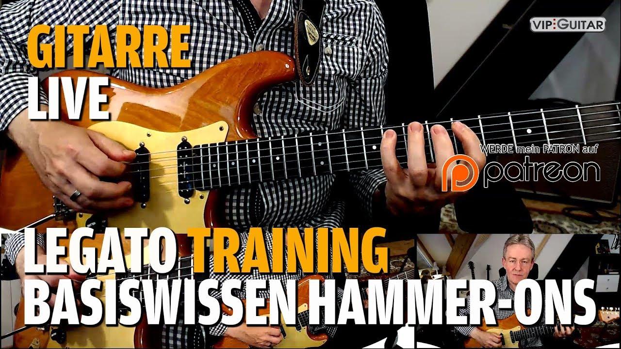 Legato Training Basiswissen Hammer On