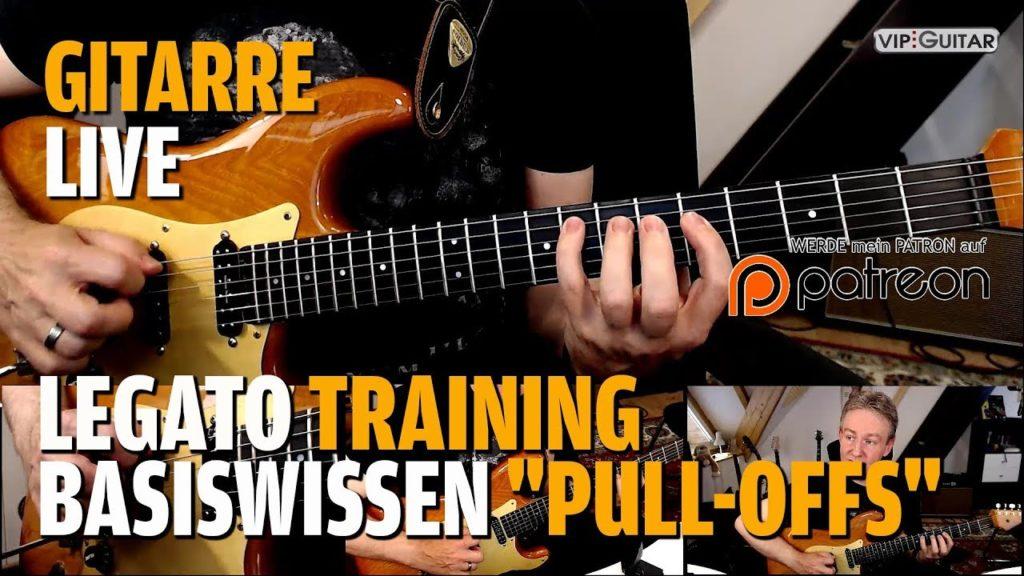 Legato Training Basississen - Pull Offs