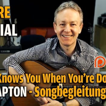 Songtutorial - Nobody knows when you're down - Eric Clapton