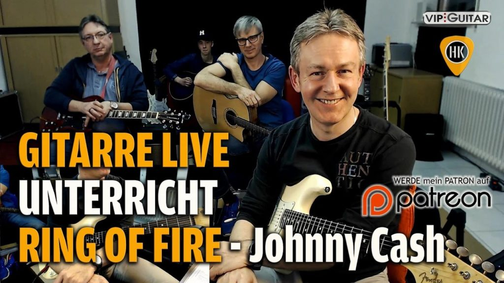 Songtutorial - Johnny Cash - Ring of Fire