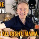 Songtutorial - Thats Allright Mama - Elvis