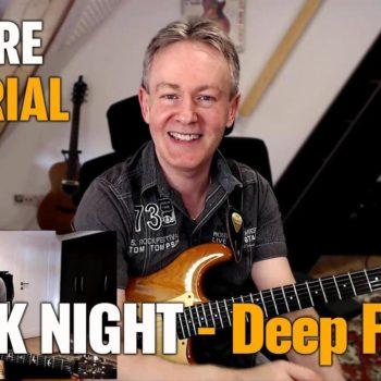 Songtutorial - Black Night - Deep Purble