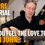 Songtutorial - Can you feel the love tonight - Elton John