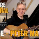 Songtutorial - Josie -Peter Maffay