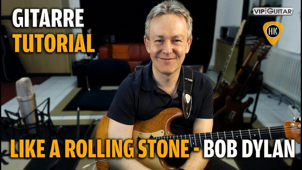 Songtutorial - Like A Rolling Stone - Bob Dylan / John Mayer