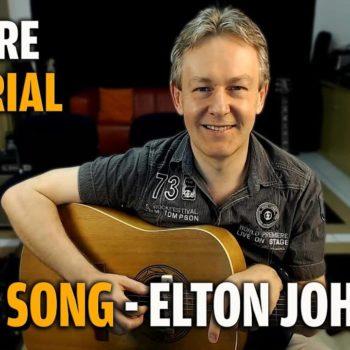 Songtutorial Your Song - Elton John