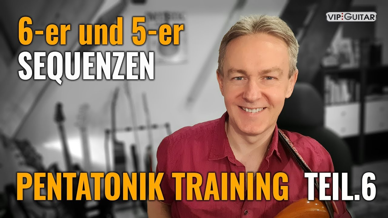 Pentatonik Training Teil 6