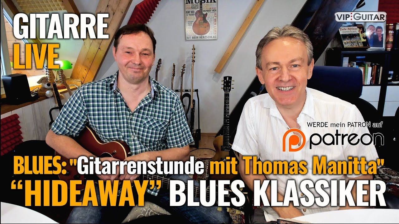 Songtutorial - HIDEAWAY - Blues Klassiker
