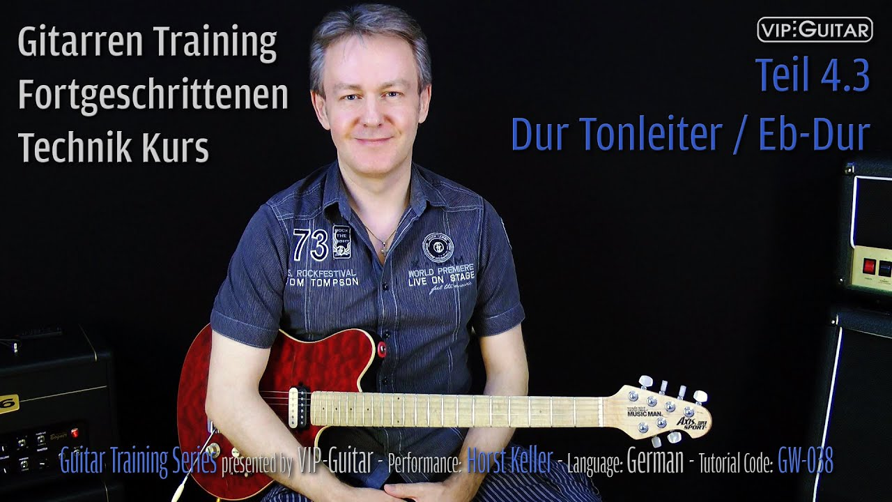 Dur Tonleiter / Eb-Dur