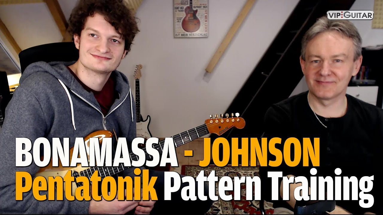 Bonamassan - Johnson - Petatonik Pattern Training