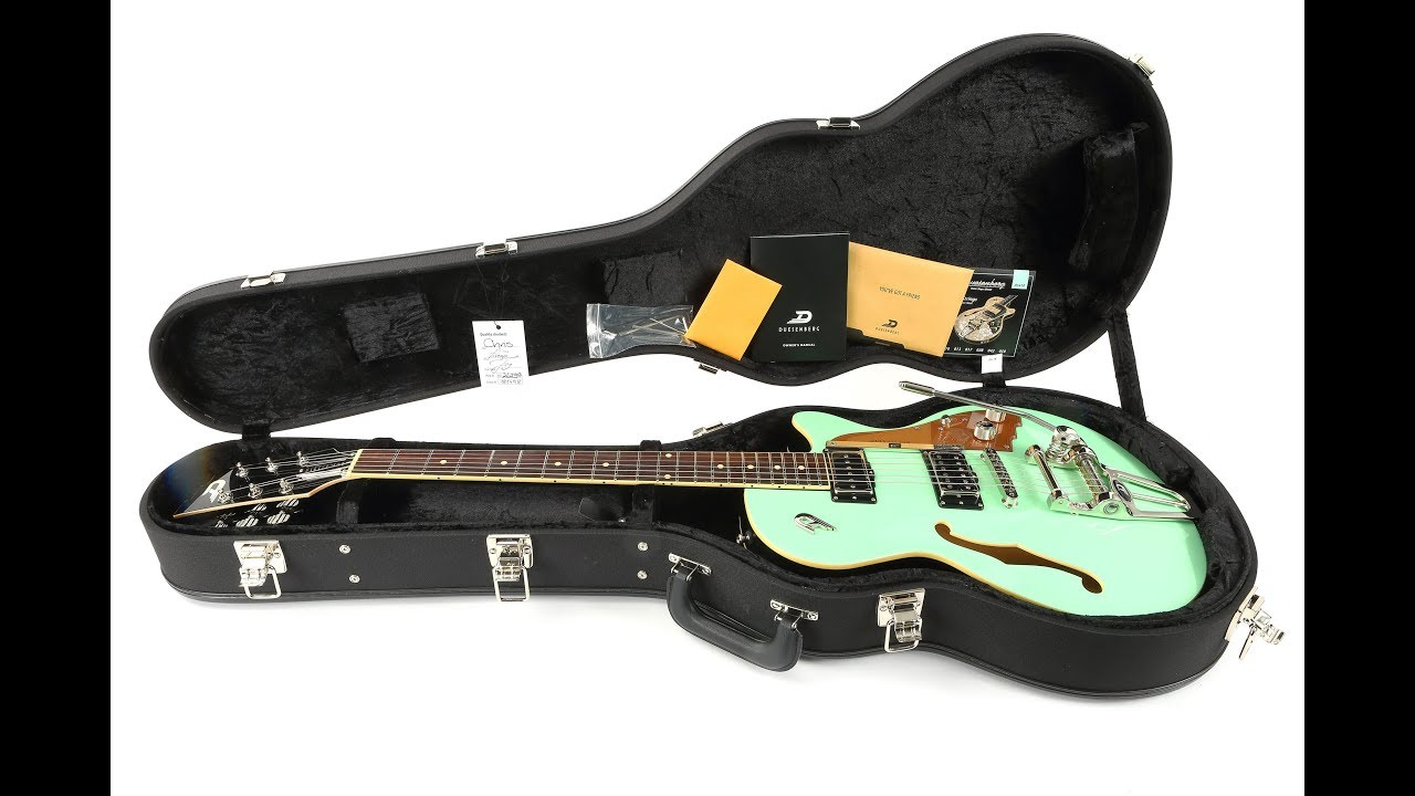 Gitarrentest Duesenberg Starplayer TV