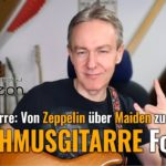 """Rhythmusgitarre Folge.5 """"Metalgitarre: Von Zeppelin über Maiden zu Metallica"""""""