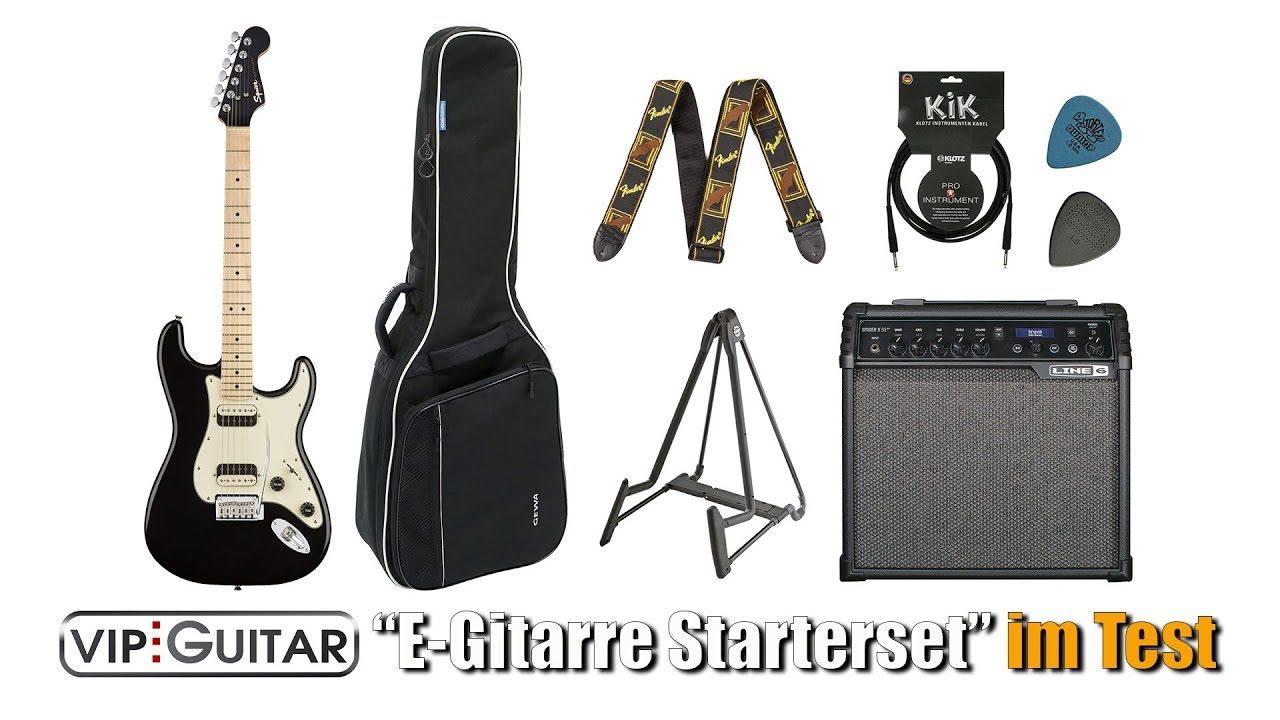 Vip-Guitar: E-Gitarren Starterset