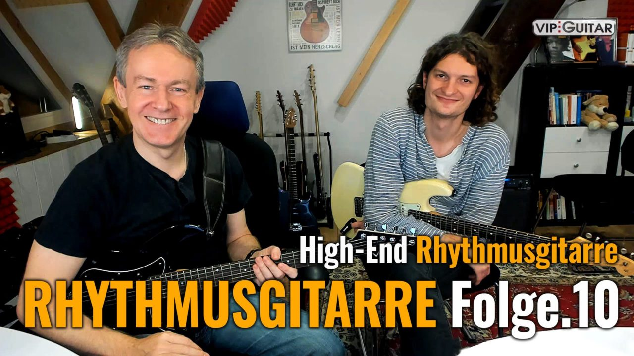 Rhythmusgitarre Folge 10