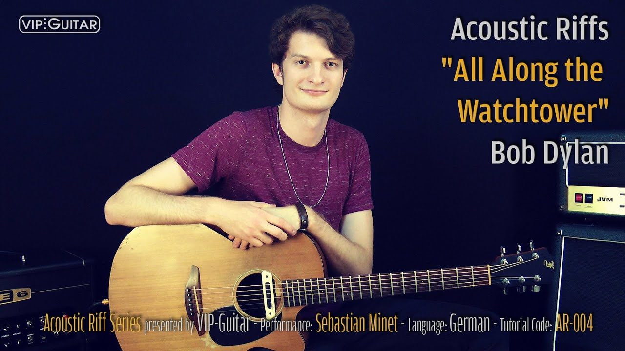 """Acoustic Riffs """"All Along the Watchtower"""""""