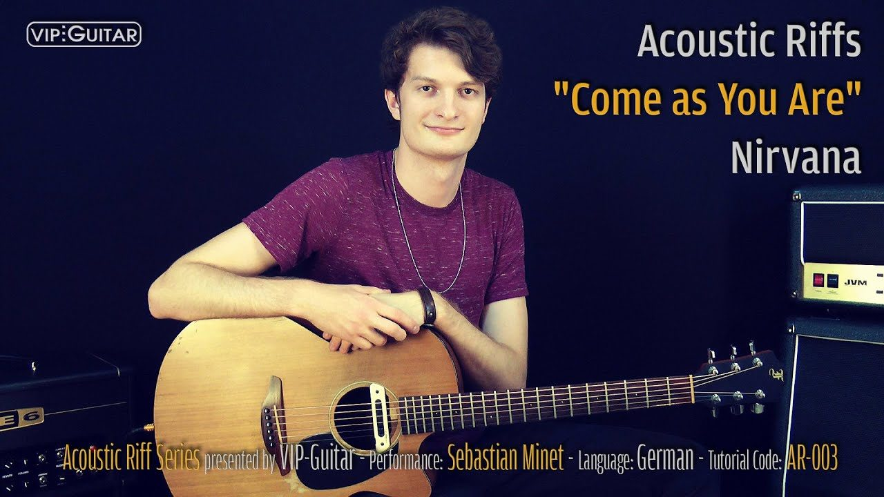 Acoustic Riffs - Come as You Are