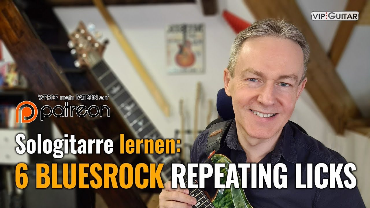 6 Bluesrock Repeating Licks
