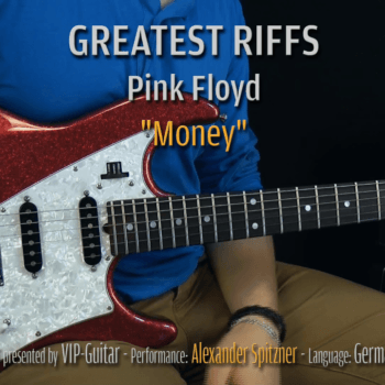 Gitarrenriff Nr. 3 - Pink Floyd - Money