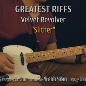 Gitarrenriff Nr. 11 - Velvet Revolver - Slither