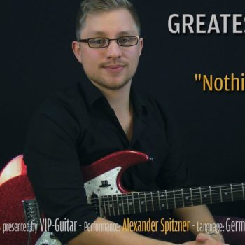 Gitarrenriff Nr. 15 - Slash - Nothin to say