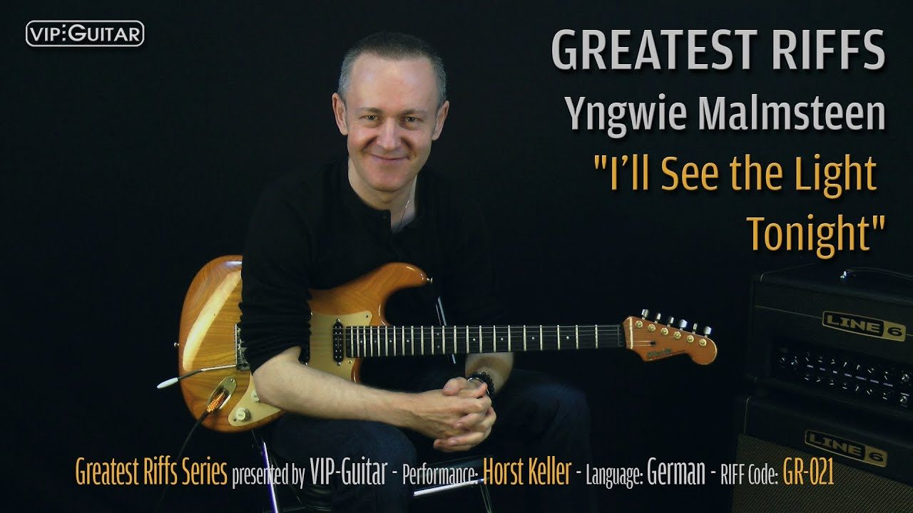 Gitarrenriff Nr. 21 - Yngwie Malmsteen - I'll See the Light Tonight