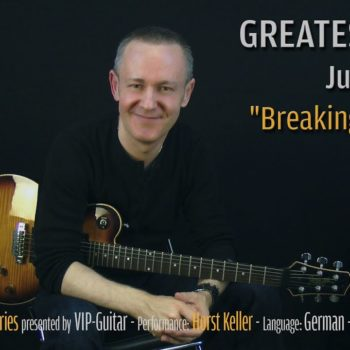 Gitarrenriff Nr. 25 - Judas Priest - Brteaking the Law