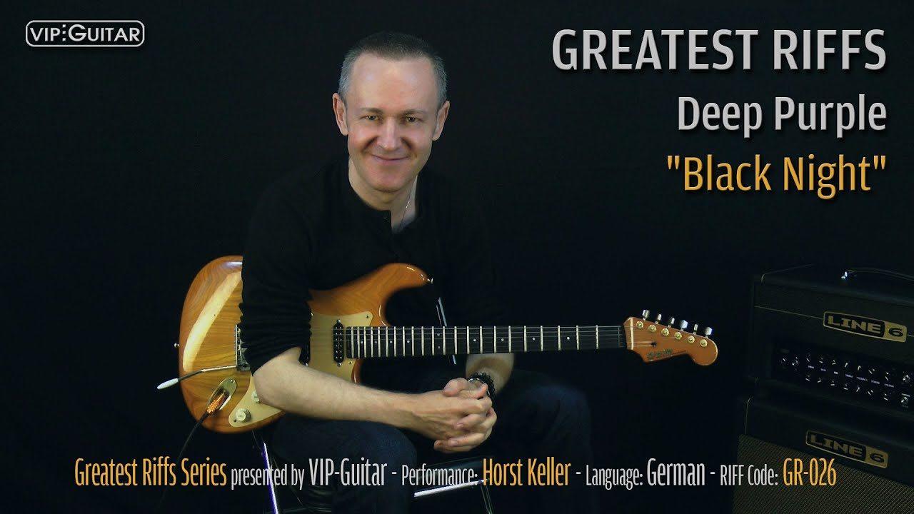 Gitarrenriff Nr. 26 - Deep Purple - Black Night