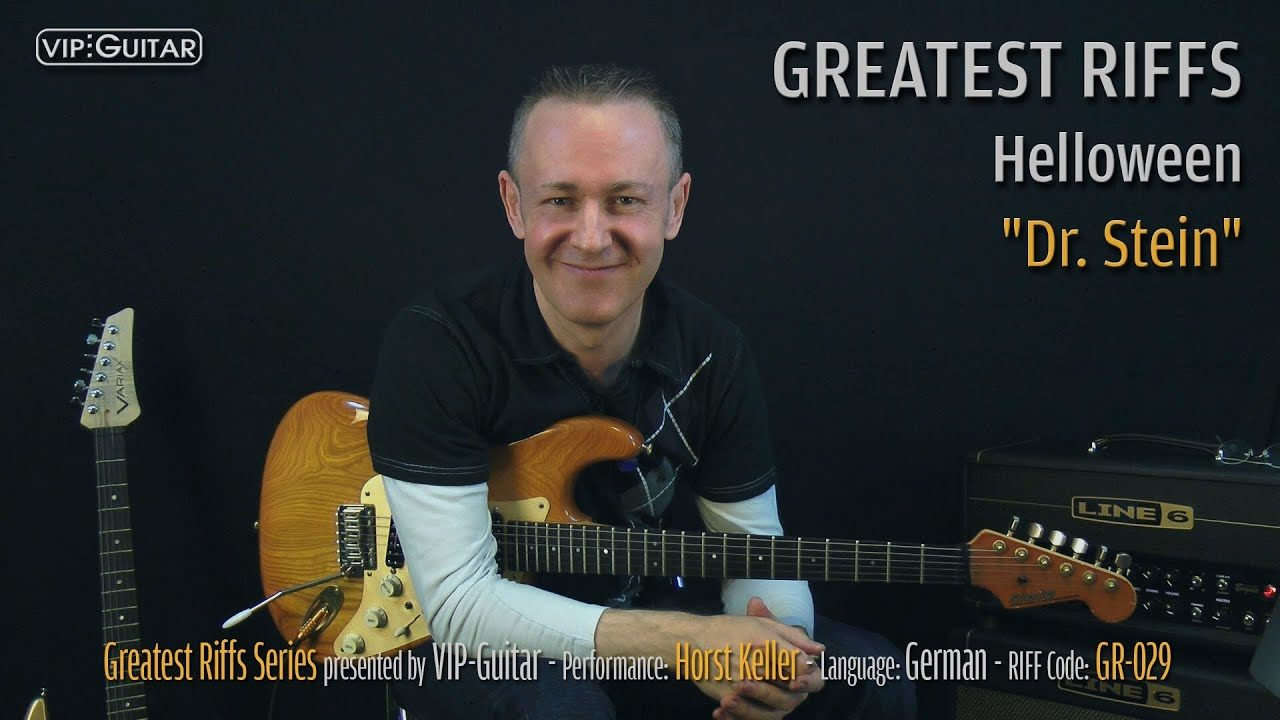 Gitarrenriff Nr. 29 - Helloween - Dr. Stein
