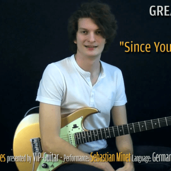 Gitarrenriff Nr. 32 - Rainbow - Since You Been Gone