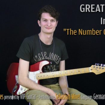 Gitarrenriff Nr. 35 - Iron Maiden - The Number of the Beast