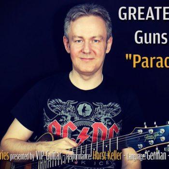 Gitarrenriff Nr. 38 - Guns N' Roses - Paradise City