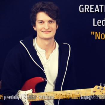 Gitarrenriff Nr. 43 - No Quarter - Led Zeppelin