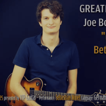 Gitarrenriff Nr. 44 - Joe Bonamassa - Bridge to Better Days