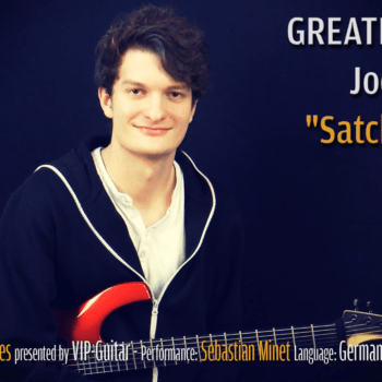 Gitarrenriff Nr. 46 - Joe Satriani - Satch Boogie