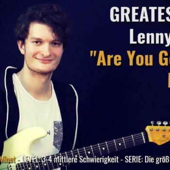 Gitarrenriff Nr. 49 - Lenny Kravitz - Are You Gonna Go My Way