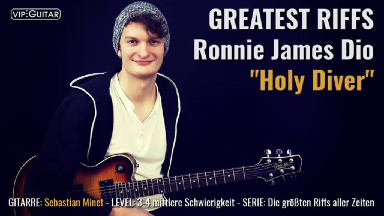 Gitarrenriff Nr. 51 - Ronnie James Dio - Holy Diver