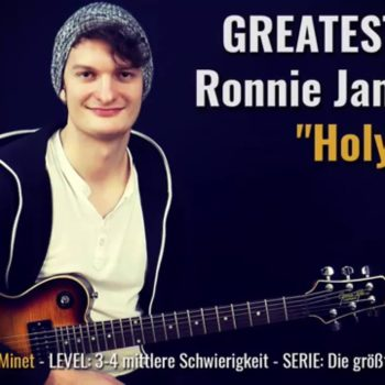 Gitarrenriff Nr. 51 - Ronnie James Dio - Holy Diver