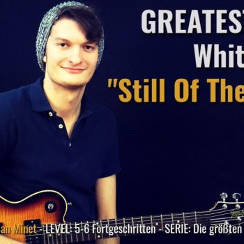 Gitarrenriff Nr. 54 - Whitesnake - Still of the Night