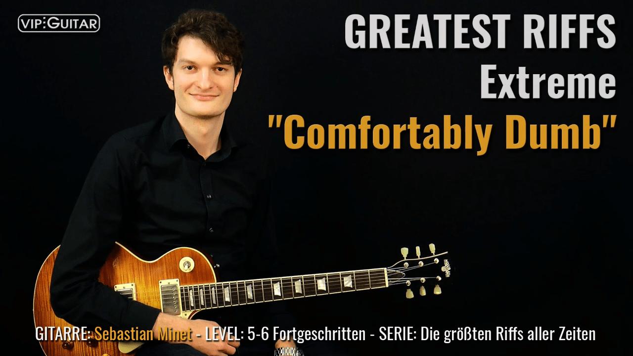 Gitarrenriff Nr. 56 - Extreme - Comfortably Dumb