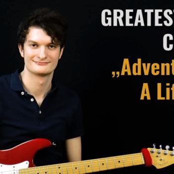 Gitarrenriff Nr. 60 - Coldplay - Adventure Of A Lifetime