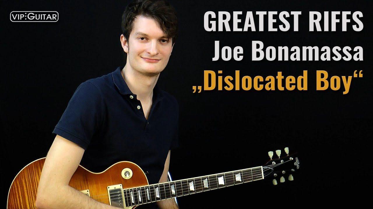 Gitarrenriff Nr. 62 - Joe Bonamassa - Dislocated Boy